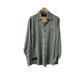 Vermont Flannel Button Up Shirt Men's Large